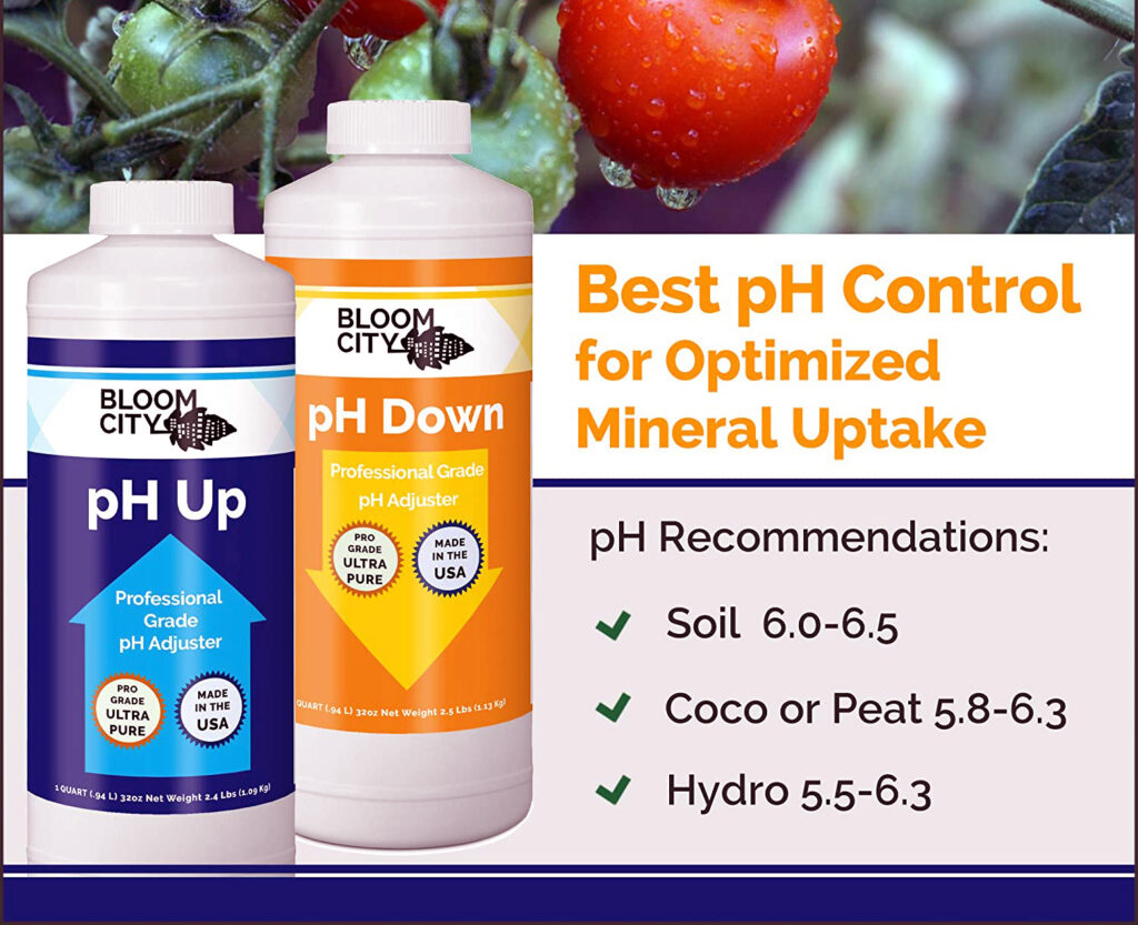 pH Up and Down for Soil