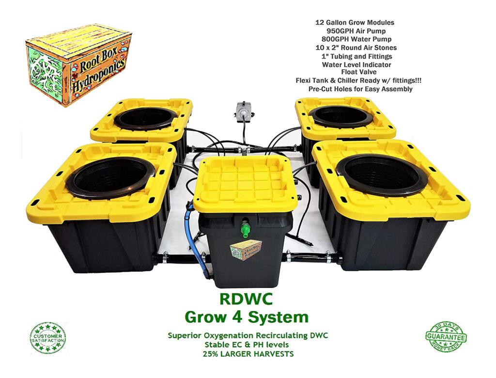 bucket gardening system