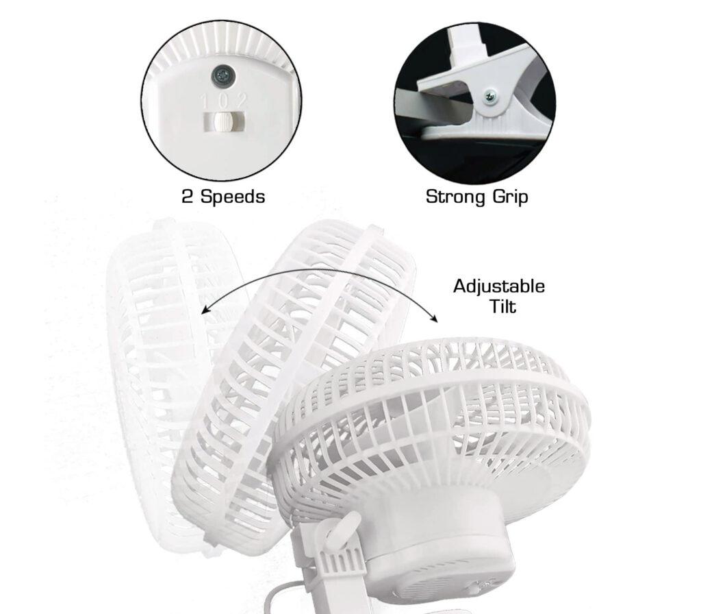 Clip Fan 6 inch