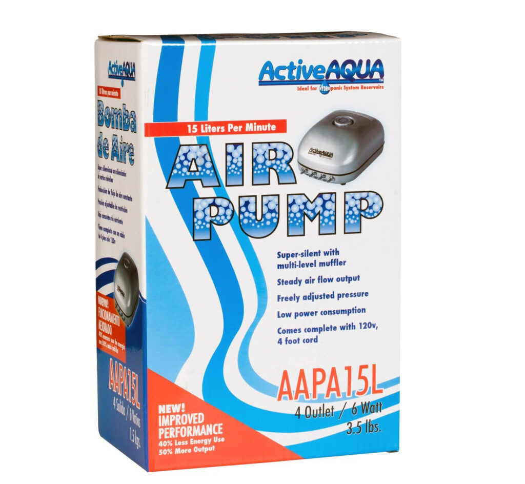 Water Pump for Hydroponics
