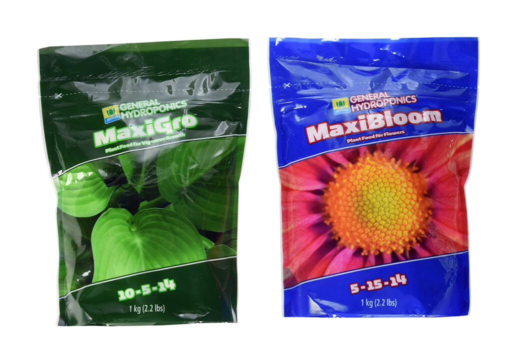 dry hydroponic nutrients