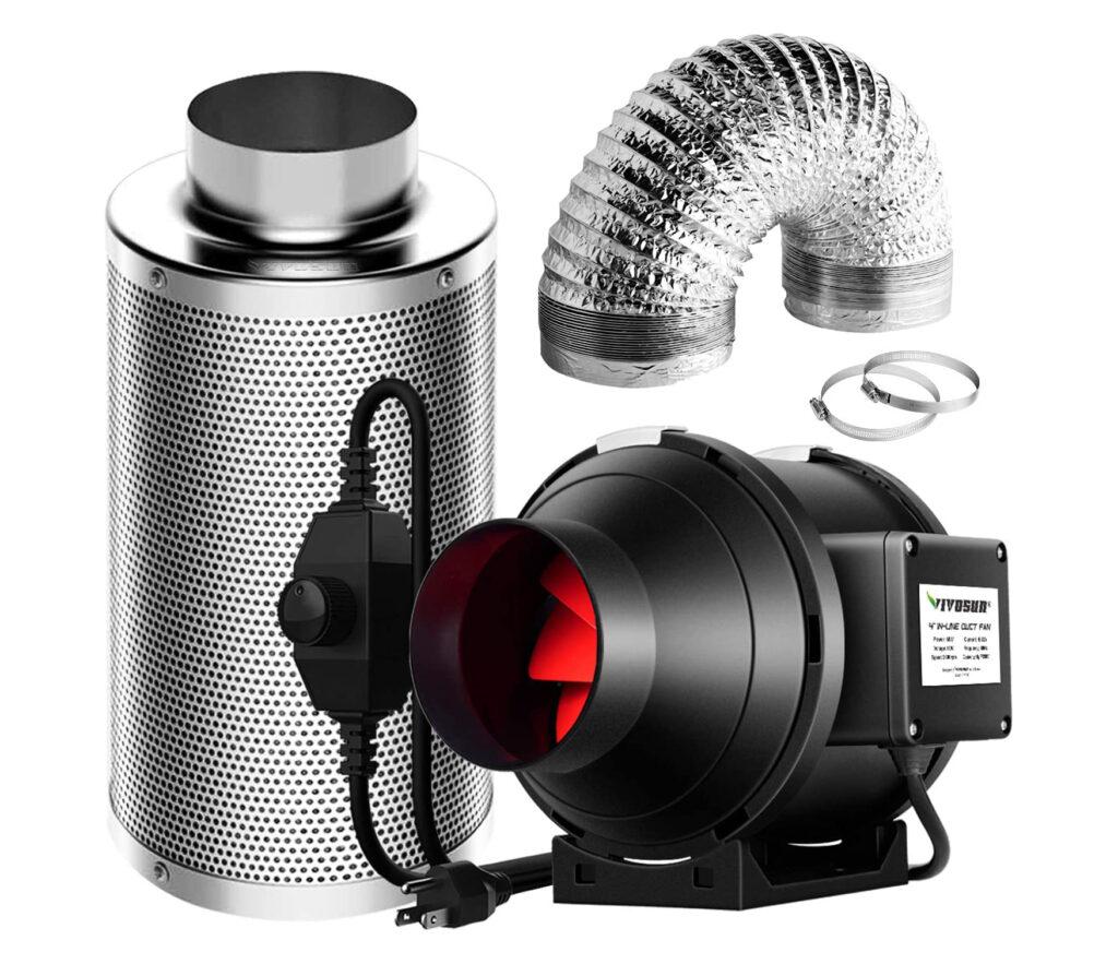 Ventilation Kit 4 Inch 190 CFM